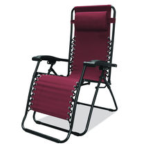 Caravan Sports Infinity Zero Gravity Chair, Burgundy - $47.78