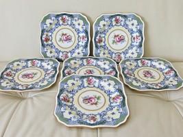 Antique Royal Doulton 1929 Square Luncheon Salad Plates Set Of 6 - $199.00