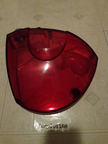 Good Used Solution Tank Assembly-Red for Hoover model F5515 steam cleaner.