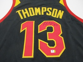 TRISTAN THOMPSON / AUTOGRAPHED CLEVELAND CAVALIERS CUSTOM BASKETBALL JERSEY COA image 3