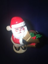 ***VINTAGE DELTA JAPAN CERAMIC SANTA CLAUS STATUE FIGURE DECOR - $23.75