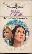 The Passionate Sinner [Paperback] [Jan 01, 1978] Violet Winspear