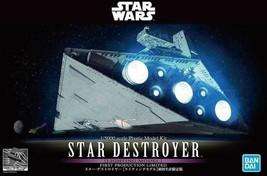 Bandai Star Wars Star Destroyer Lighting Model Kit 1/5000 Scale 1st Prod... - $129.99