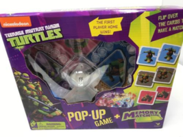 Teenage Mutant Ninja Turtles Pop-Up Game with Memory Match Game - $19.99