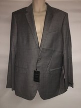 Express Blazer Suit Jacket Mens 42 Long Gray Producer Modern Fit NWT  - $120.94