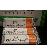 WORLD'S FINEST CHOCOLATE Caramel 3 x $2.00 Each Bars - $5.89