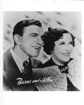 BURNS & ALLEN SHOW 8X10 PHOTO PICTURE COMEDY GEORGE GRACIE TV WIDE BORDER - $3.95