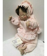 Lee Middleton First Moments Baby Girl Doll Sleeping COA & Bible Vintage ... - $47.82