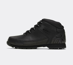 Timberland Mens Euro Sprint Hiker Leather Boots Black - £169.55 GBP