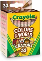 dCrayola Multicultural Crayons - 32 Count (2 pack) - $12.99