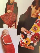 Kwik Sew Sewing Patterns 3734 Baby Swaddler Sling Carrier Nursing Cover New - $16.45