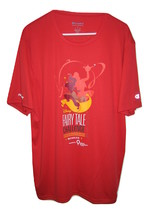 Disney Fairy Tale Challenge 19.3 Miles Run Wicking 2019 T Shirt Red Mens... - $9.89