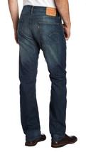 Levi's Strauss 513 Men's Original Straight Leg Denim Jeans 08513-0200 - 34x34 image 2