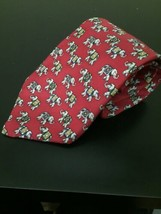 Mens Brooks Brothers Silk Neck Tie Elephant Print - $24.63