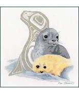Seal cross stitch chart Sue Coleman The Stitching Studio  - $14.40