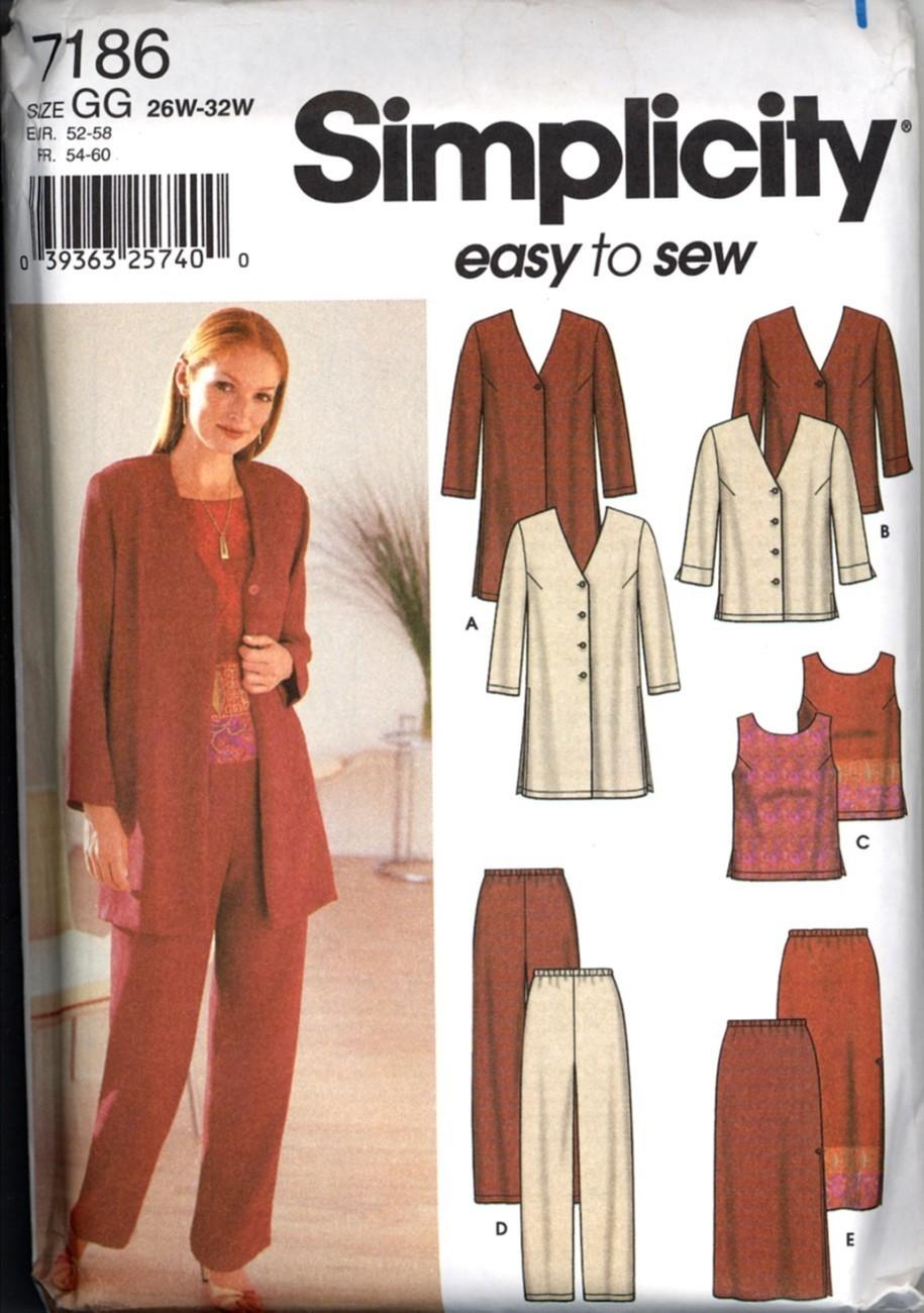 Suit Jacket Pants 26W 28W 30W 32W Pattern New