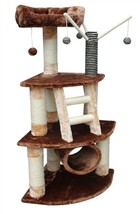 """53"""" Tall Athens Cat Tree - *Free Shipping In The United States* - $115.95"""