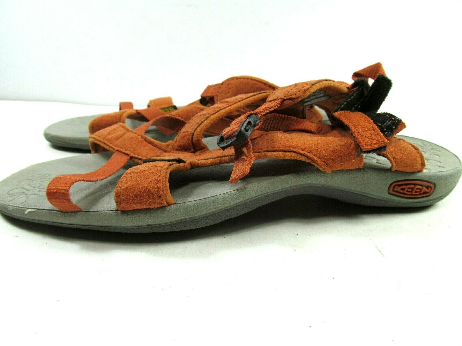 Keen Womens Orange Strappy Ankle Strap Sandals Size US 7.5  EUR 38 image 5