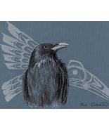 Native Raven cross stitch Sue Coleman The Stitching Studio  - $14.40