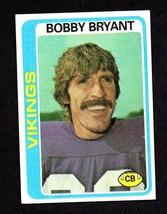 1978 Topps Football #233 Bobby Bryant Vikings EX - $1.49