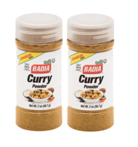 Badia Curry Powder Seasoning 2 Bottle Indian Cuisine Essential Jamaican ... - $14.64