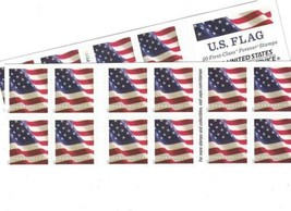 USPS US Flag Forever Stamps - 40 (Two Books of 20) Packaging May Vary,...  - $32.41
