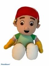 "Handy Manny Doll Large Disney Plush Doll Stuffed Toy 18"" From Bob The Bu... - $19.99"