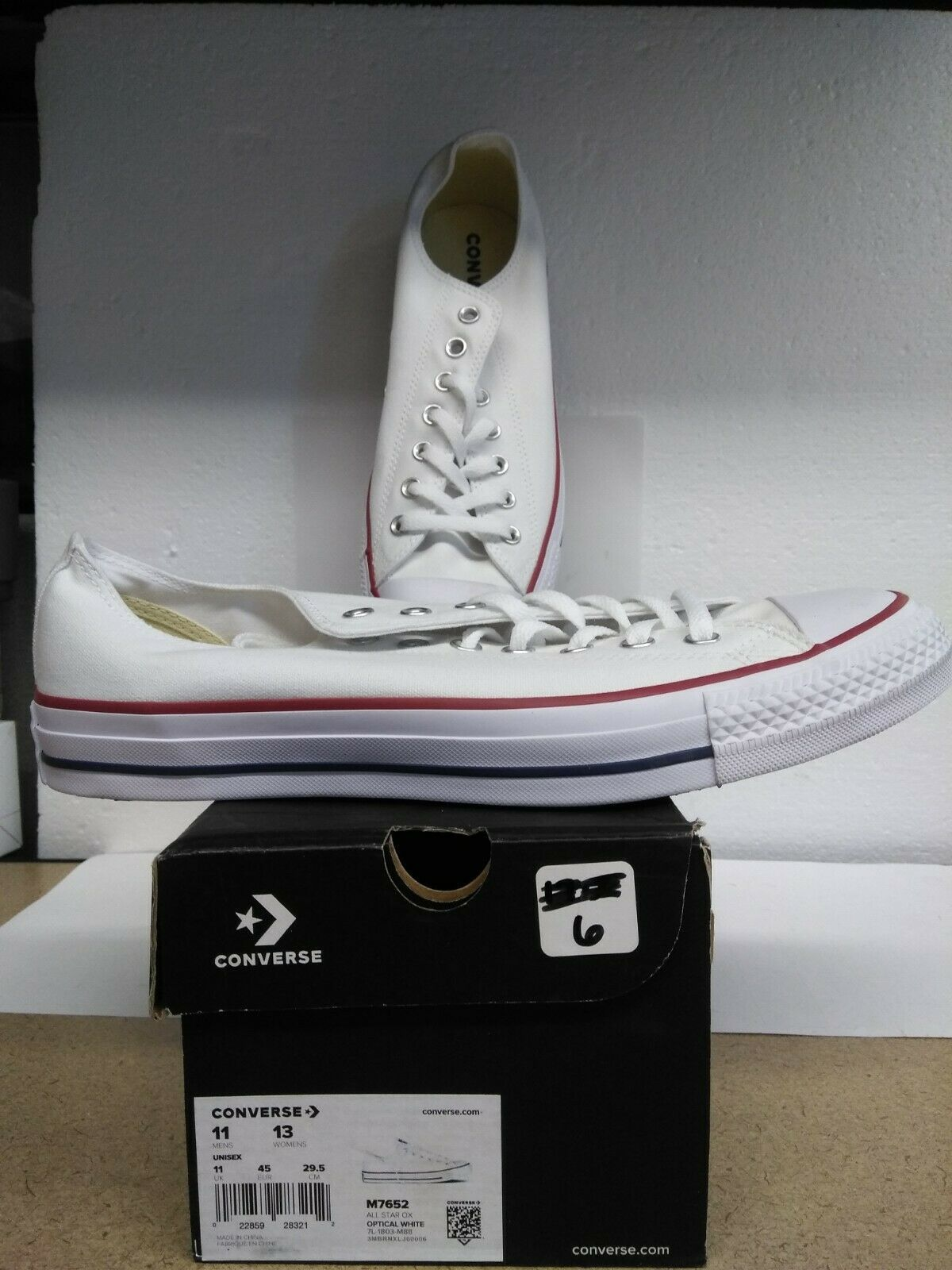 Converse Chuck Taylor All Star Optic White M11/w13