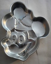 Wilton Cake Pan Mickey Mouse Bandleader 515-302 Drum Major Vintage Disney  - $3.99