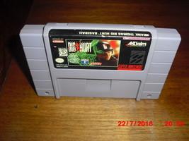 Frank Thomas Big Hurt Baseball (Super Nintendo Entertainment System, 1995) - $6.43