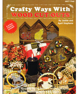 CRAFTY WAYS WITH WOOD CUT-OUTS PLAID #8077 FREE WITH QUALIFYING ORDER - Freebie