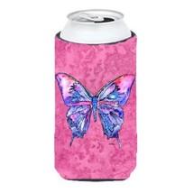 Carolines Treasures Butterfly On Pink Tall Boy bottle sleeve Hugger 22 T... - €16,40 EUR