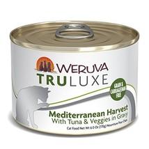 Weruva Truluxe Cat Food, Mediterranean Harvest With Tuna Whole Meat & Ve... - $59.43