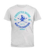 Winter Games Freestyle Skiing Champion Germany Mens Soft T Shirt - $20.00+