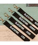 KPOP BLACKPINK Laser Lanyard Keychain Name Cellphone Holder StrapKeyring... - $0.99