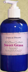 Sweet Grass Lotion~ Body Care Organic 8 oz Bonanza