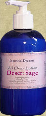 Desert Sage Lotion Body Care Organic 8 oz Bonanza