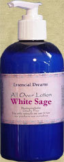 White Sage Lotion~ Body Care Organic 8 oz Bonanza