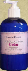 Cedar Lotion~ Body Care Organic 8 oz Bonanza