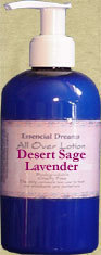 Desert Sage & Lavender Lotion~ Body Care Organic 8 oz Bonanza