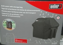Weber 7107 Full Length Grill Cover with Storage Bag Color Black image 2