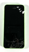 APPLE iPHONE 5C -GREEN- BAD SCREEN - FOR PARTS OR NOT WORKING - TBS14 - $16.44