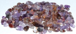 1 lb Super Seven Melody Stone gemstone tumbled chips 57 mm  BULK Coaxinite - $55.00