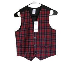 NWT Gymboree Boys Plaid Vest Size M Age 7-8 years - $19.80