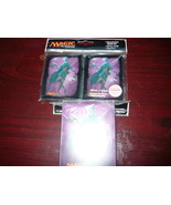 ULTRA PRO 80 MAGIC DECK PROTECTOR CARD SLEEVES ELDRITCH MOON And Deck BO... - $13.98