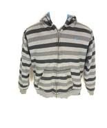 Quiksilver Boys Black Gray Jacket M  - $24.74