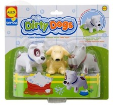 Alex Toys Rub A Dub Dirty Dogs New Free Shipping - $27.28