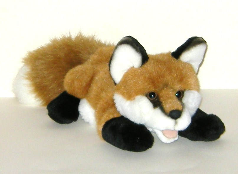 Primary image for Aurora Plush Full Body Red Fox Hand Puppet