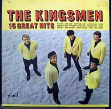 The Kingsmen 15 Great Hits vinyl record [Vinyl] The Kingsmen - £10.18 GBP