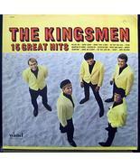The Kingsmen 15 Great Hits vinyl record [Vinyl] The Kingsmen - $13.51